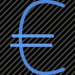 business, economy, euro, finance, money icon