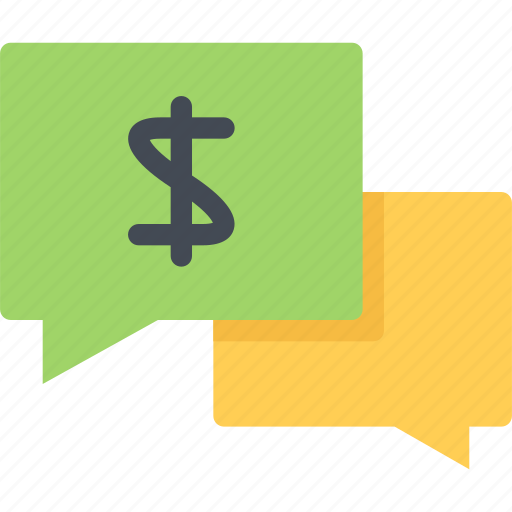 business, economy, finance, money, talk icon