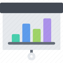 business, economy, finance, money, presentation icon