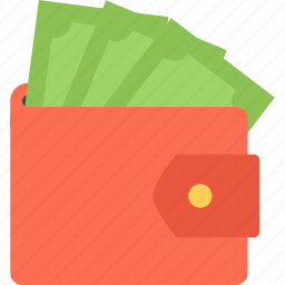 business, economy, finance, money, purse icon