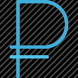 business, economy, finance, money, ruble icon