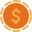 cash, currency, doller, finance, money icon