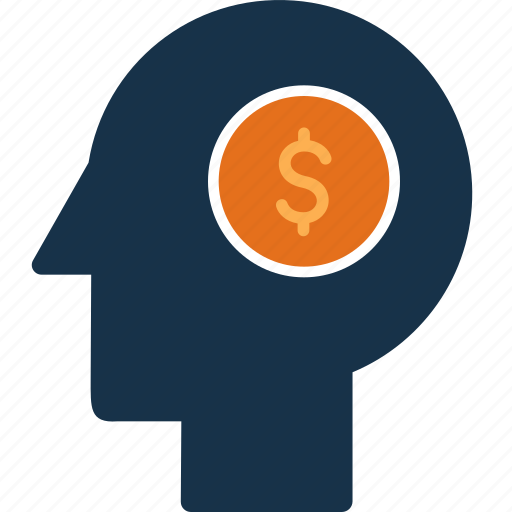 cash, currency, finance, head, money icon