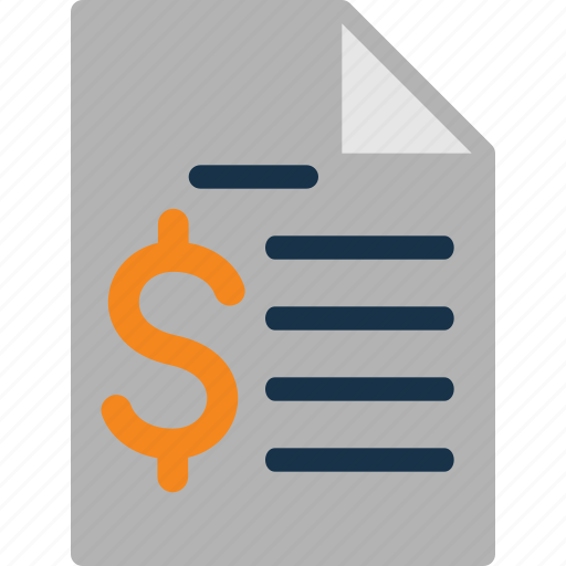 cash, currency, finance, invoice, money icon
