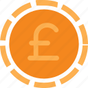cash, currency, finance, money, pound, sterling icon