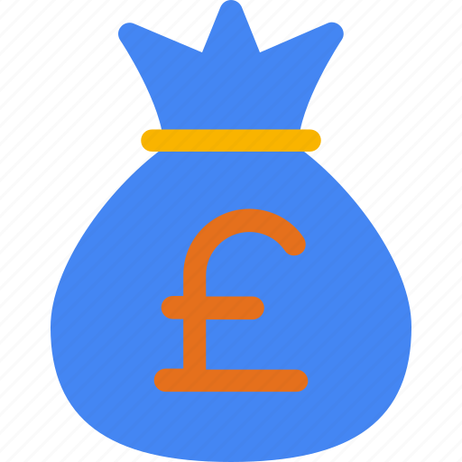bag, cash, currency, finance, money, pound, sterling icon