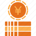 cash, currency, finance, money, yuan icon