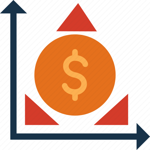bars, cash, currency, finance, finances, money, stats icon
