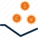 cash, currency, finance, get, money icon