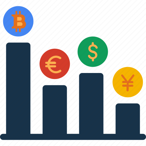 cash, currency, finance, increased, money, revenue icon