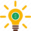 cash, currency, finance, idea, money icon