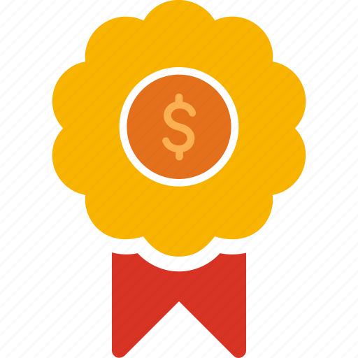cash, currency, finance, medal, money icon