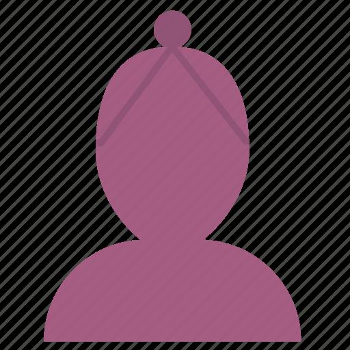 avatar, female, girl, member, profile, user, woman icon