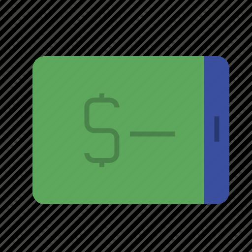analytics, business, chart, finance, marketing, money, phone icon