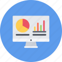 analytics, business, businessman, economy, finance, money icon