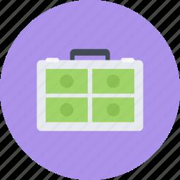business, businessman, case, economy, finance, money icon