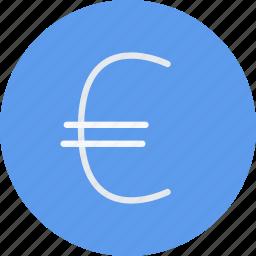 business, businessman, economy, euro, finance, money icon