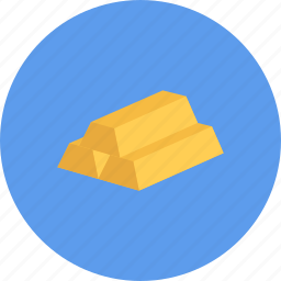 bullion, business, businessman, economy, finance, gold, money icon