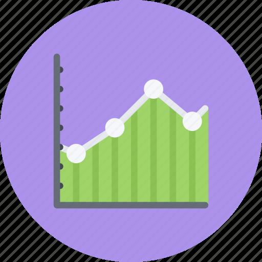 business, businessman, chart, economy, finance, line, money icon