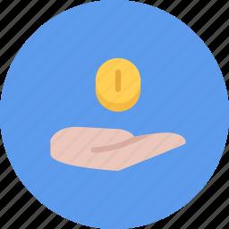 business, businessman, economy, finance, money, payout icon
