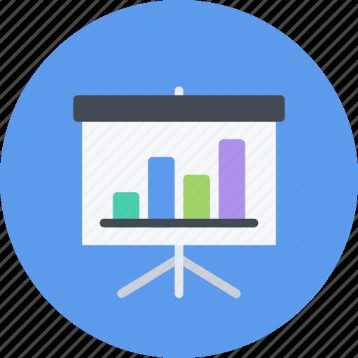 business, businessman, economy, finance, money, presentation icon