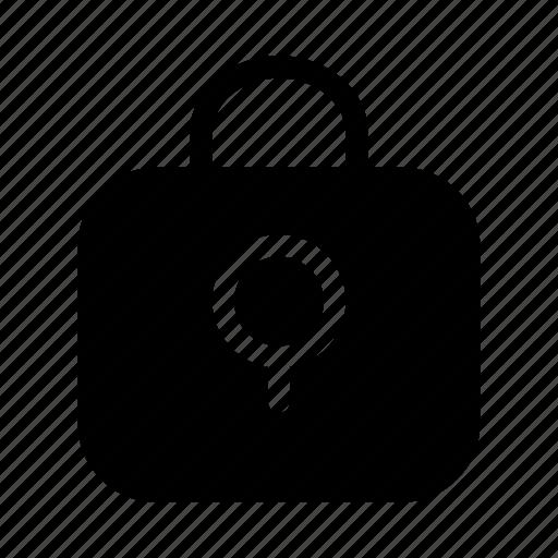 cash, exchequer, finance, lock, money, protect icon