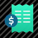 tax, invoice, bill