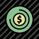cash, coin, finance, money