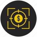 bank, cash, coin, currency, dollar, finance, money icon