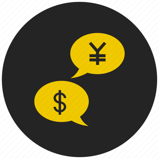 american dollar, currency conversion, dollar, japanese yen, money exchange, yen icon