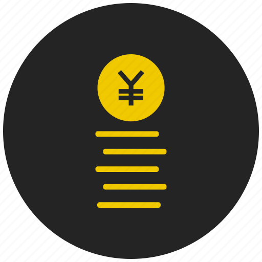 coin, currency, finance, investment, japanese, money, yen icon
