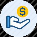 business, donation, finance, money icon