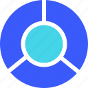 25px, chart, donnut, iconspace icon