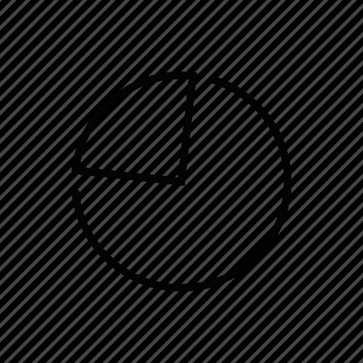 analytics, dashboard, pie chart, pie graph, report, section, statistics icon