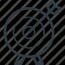 aim, arrow, bullseye, dartboard, game, goal, target