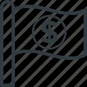 business flag, ensign, flag, flag economy, flag signal