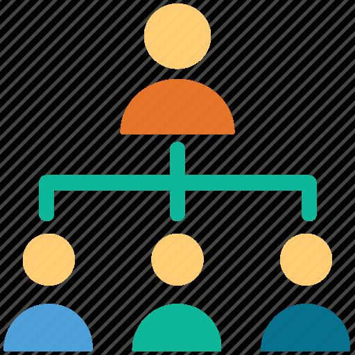 business, businessmen, hierarchy, teamwork icon