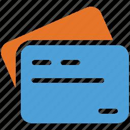cards, cash, credit, debit icon