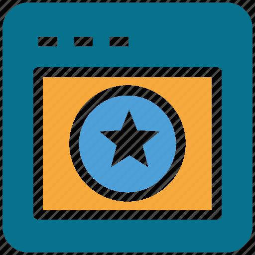 browser, display, internet, website icon