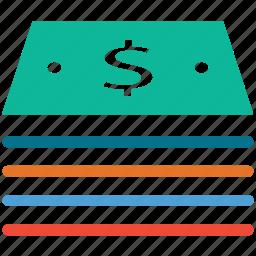 cash, dollars, finance, money icon