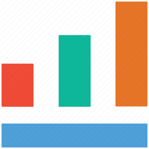 ascending, business, profit, up icon