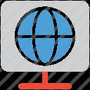 global, internet, network, online