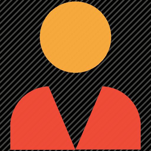 man, person, profile, user icon