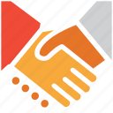 business partner, businessmen, deal, shake hand