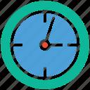 round clock, clock, timer, time