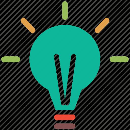 Bulb, idea, light, light bulb icon - Download on Iconfinder