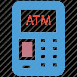 atm, atm machine, bank, cash icon