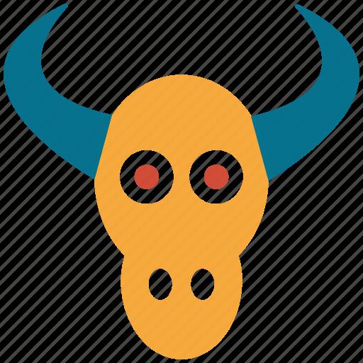 animal, bull, bull head, bulls head icon