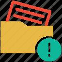 error, error in document, folder, wrong document