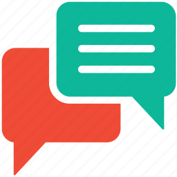 bubble, chat, communication, talk icon
